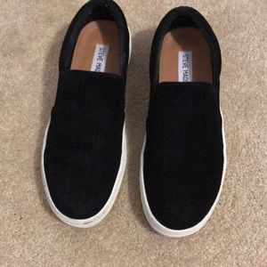 Steve Madden Suede Slip on Sneakers